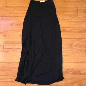 Abercrombie & Fitch size medium black maxi skirt